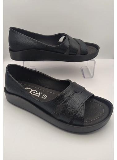 Voga Spor Sandalet Siyah